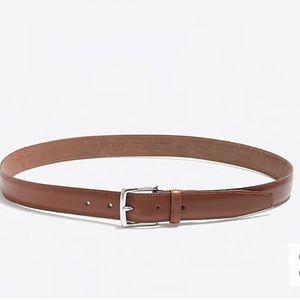 J.Crew Classic Genuine Leather Dress Belt